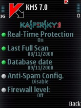 Kaspersky Mobile Antivirus Update Of 09/11/2008
