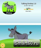 Скриншот к файлу: Talking Donkey v.1.3.1