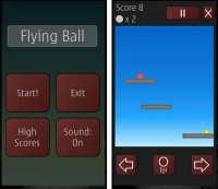 Скриншот к файлу: Flying Ball v.1.07(1)