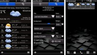 Скриншот к файлу: qooWeather v.4.05(0) ENG